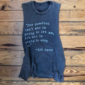 Brandy Melville Quote Top